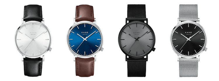 KANE-Watches-collectie