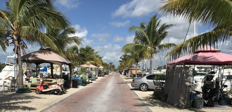 stock island marina village Florida Keys Overseas Highway Mile-Markers Guide