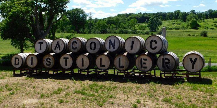 Taconic Distillery in Millbrook, NY makes small-batch bourbon and craft cocktails