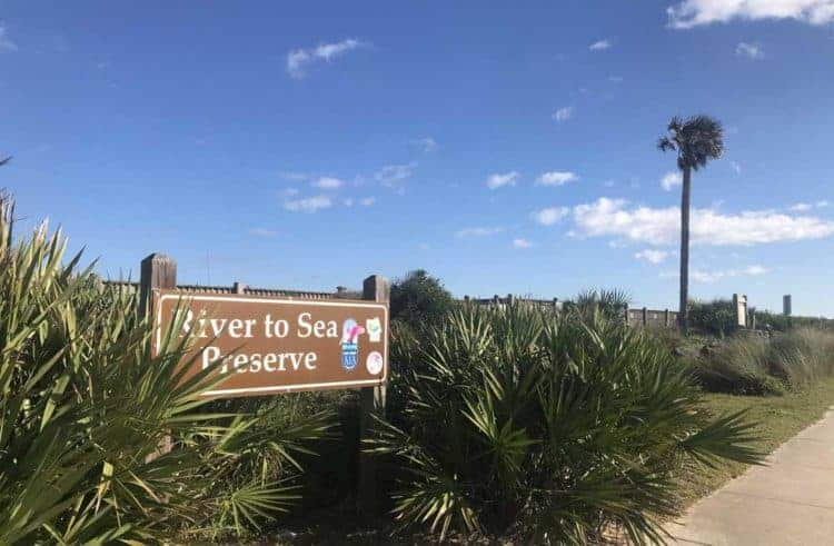 Florida A1A: The River to Sea Preserve is next to Marineland. (Photo: Bonnie Gross)