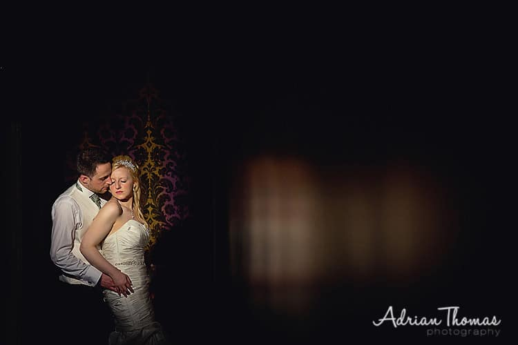 Image of bride and groom at their wedding at New House Country Hotel in Cardiff