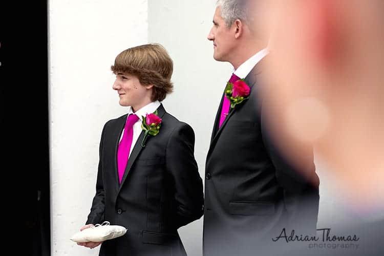 Ring barer at wedding