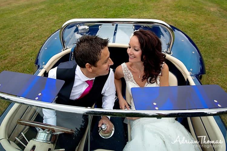 bride loved up