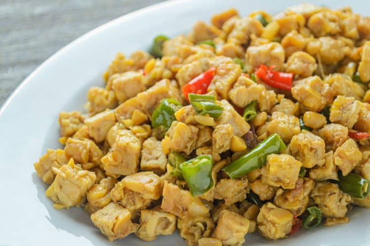 Mexican Egg-Style Tempeh