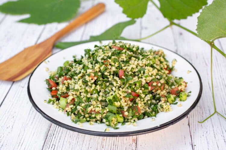Tabbouleh Salad - Photo by Alona Lahav