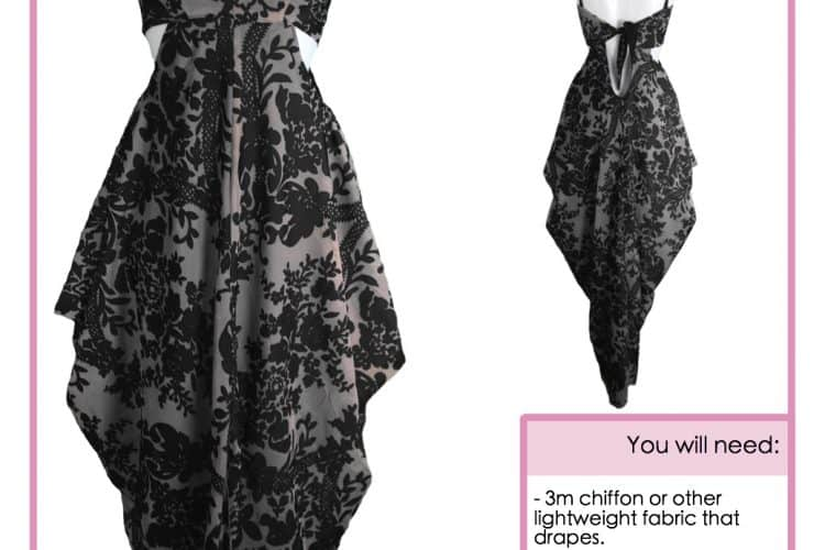 The Tailoress PDF Sewing Patterns - Libi Dress Tutorial
