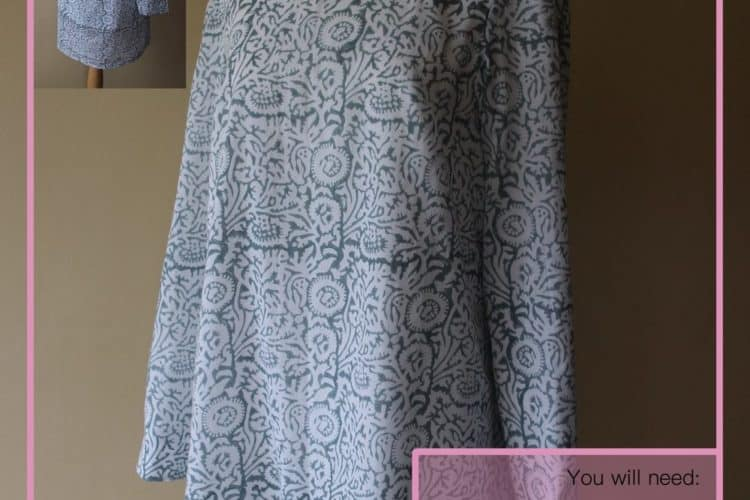 The Tailoress PDF Sewing Patterns - Barbara Tunic Tutorial