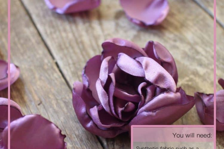 The Tailoress PDF Sewing Patterns - Fabric Roses Tutorial