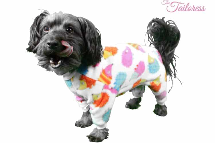 The Tailoress PDF Sewing Patterns - Dog Pyjamas
