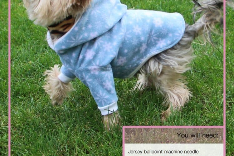 The Tailoress PDF Sewing Patterns - Fido Jumper Tutorial