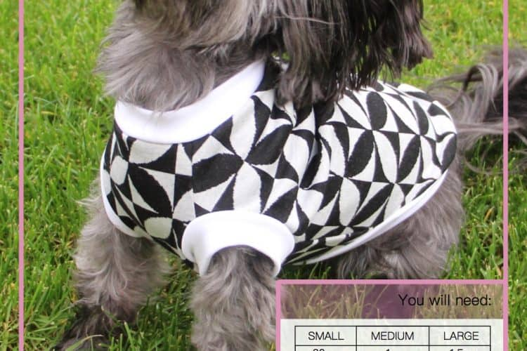 The Tailoress PDF Sewing Patterns - Jasra Tee for Dogs Tutorial