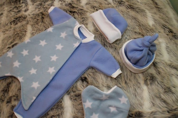 The Tailoress PDF Sewing Patterns - Preemie Baby Outfit
