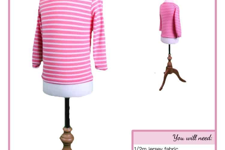 The Tailoress PDF Sewing Patterns - Arabella Top Tutorial