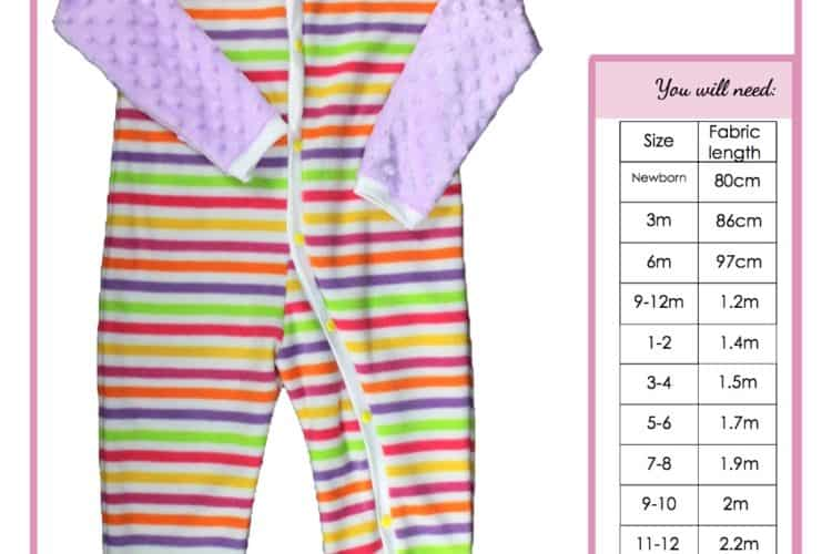 The Tailoress PDF Sewing Patterns - Harry Romper Tutorial for Children