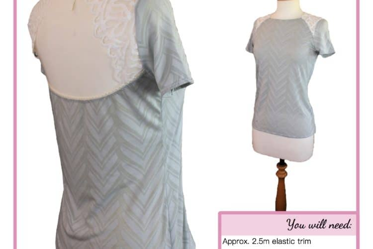 The Tailoress PDF Sewing Patterns - Olivia Open Back Top Tutorial