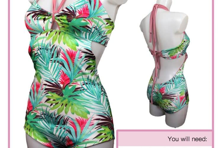 The Tailoress PDF Sewing Patterns - Sabrina Swimsuit Tutorial