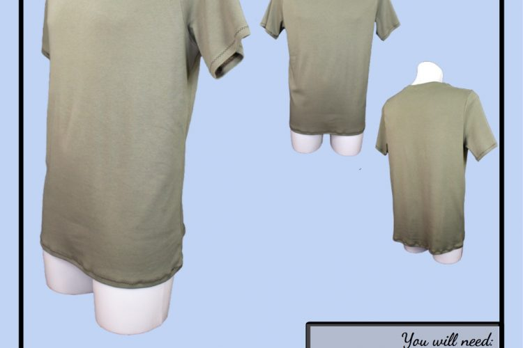 The Tailoress PDF Sewing Patterns - Bruce Tee Tutorial