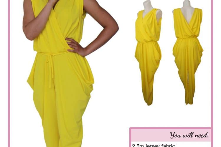 The Tailoress PDF Sewing Patterns - Valentina Jumpsuit Tutorial