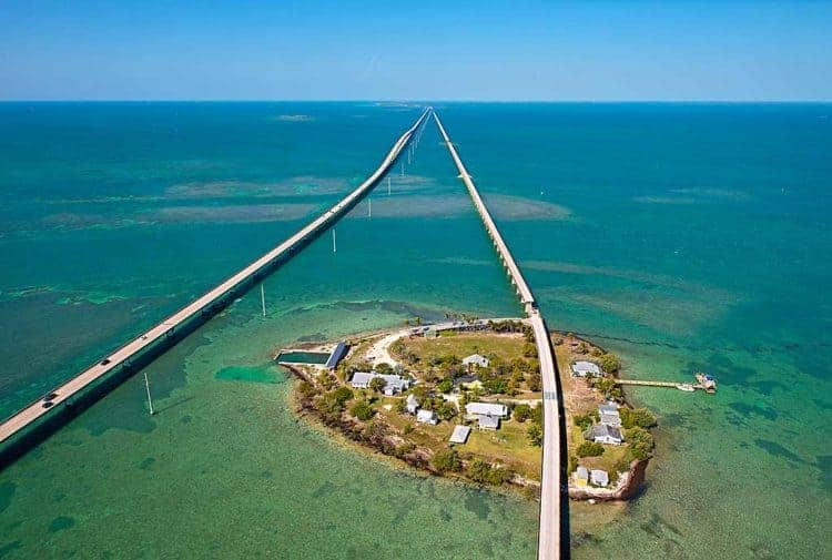 seven mile bridge pigeon key