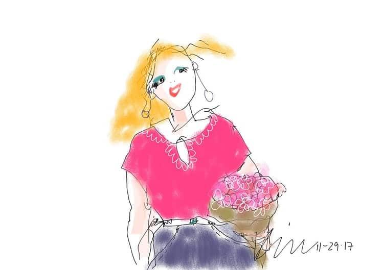 Happy Mothers Day- woman flowers©Yakira Shimoni Fulks—Kira Art and Poetry
