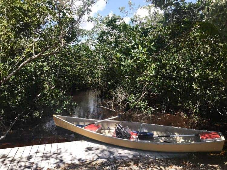 Launch for Everglades National Park Hell's Bay Kayak Trail. (Photo: Bonnie Gross)