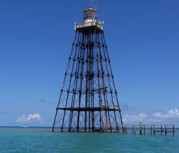 Florida lighthouses at risk: Sand Key Lighthouse off Key West is being auctioned by the federal government.