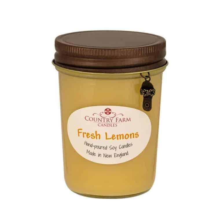 Fresh Lemons Soy Candle