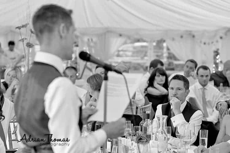 weddiing speeches and llanerch