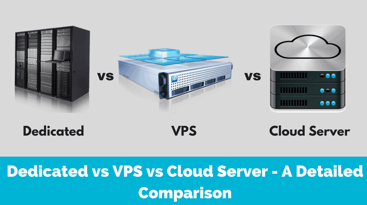 Dedicated vs VPS vs Cloud Server
