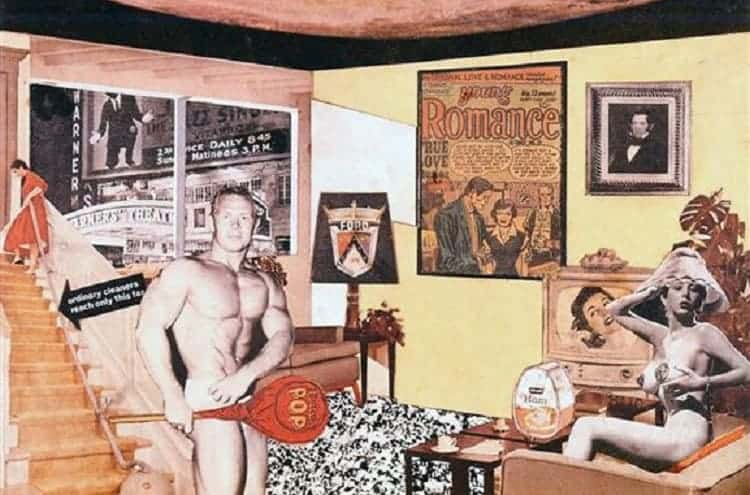 "Richard Hamilton, Just what is it that makes today's homes so different, so appealing?.  ""This is tomorrow"""