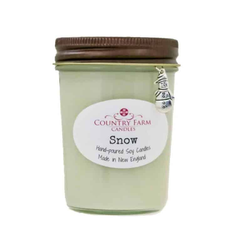 Snow Soy Candle