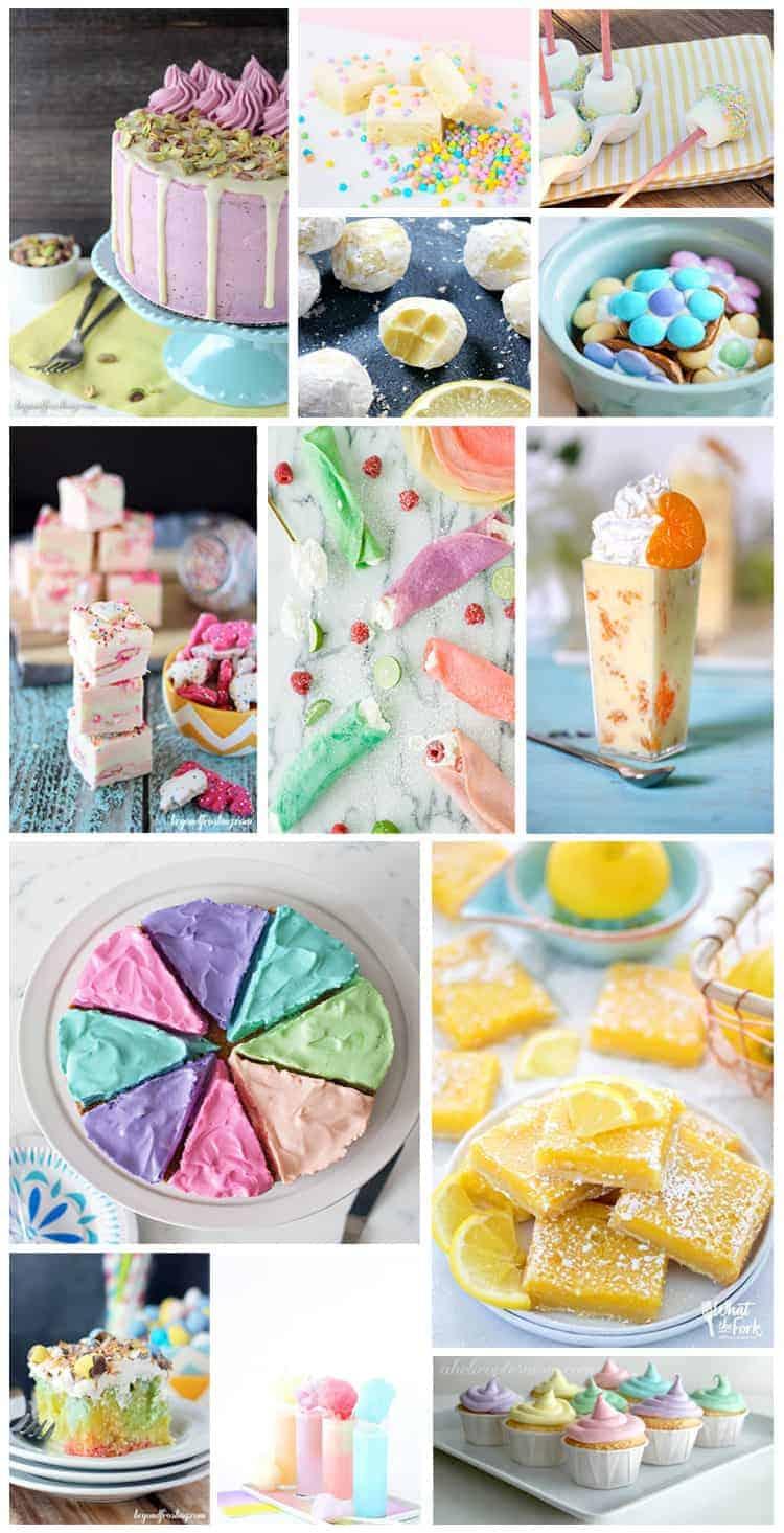 20 Beautiful Pastel Desserts