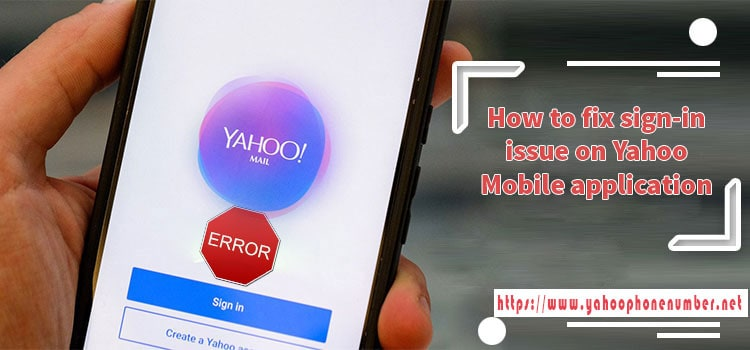 How to fix sign-in issue on Yahoo mobile application