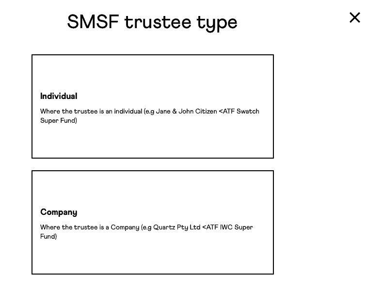 Stake SMSF Individual Trustees Company Trustee
