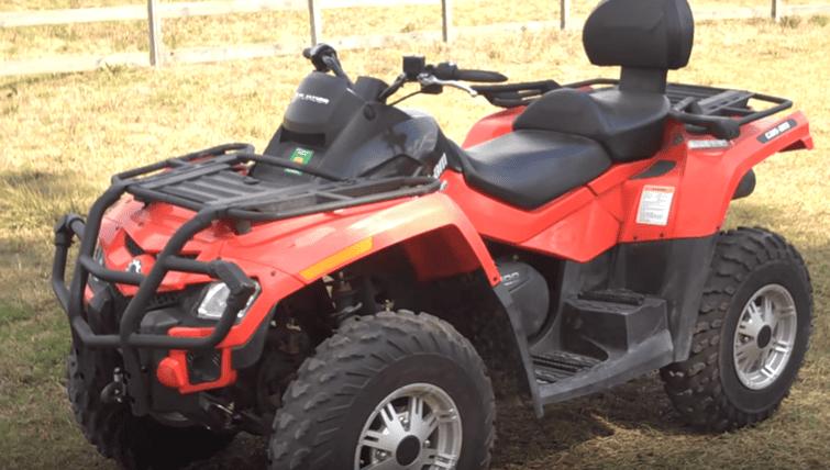 Can Am Outlander 500 2-Person ATV Rental-2
