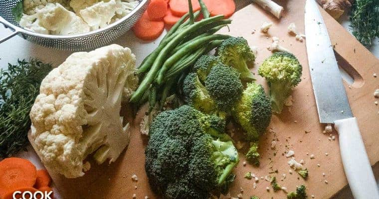 How to cook perfectly flavored steamed veggies