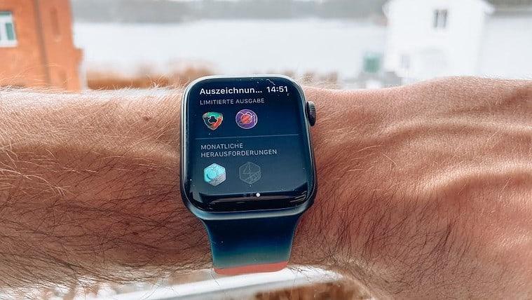 Apple Watch Herausforderungen