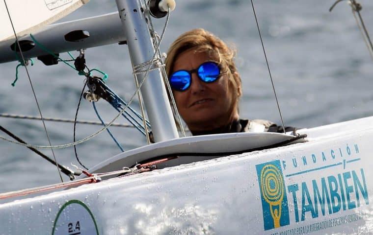 Teresa Silva, presidenta de la Asociación Española 2.4mR