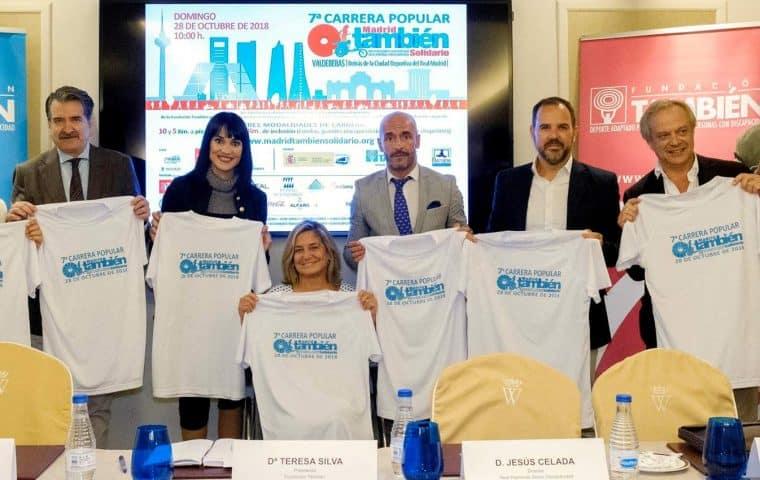 Presentación oficial de la la 7ª Carrera Popular Madrid También Solidario