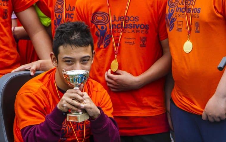 Juegos Inclusivos Escolares de Fundación Sanitas y Fundación También