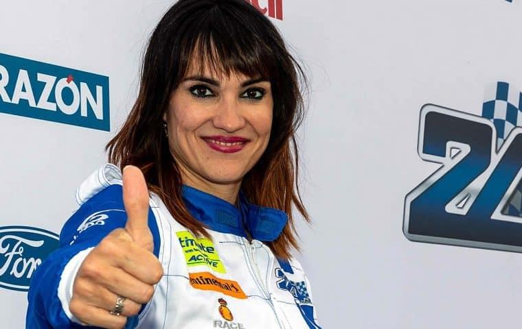 Irene Villa, embajadora de la Fundación También en la XVI edición de las 24 Horas Ford