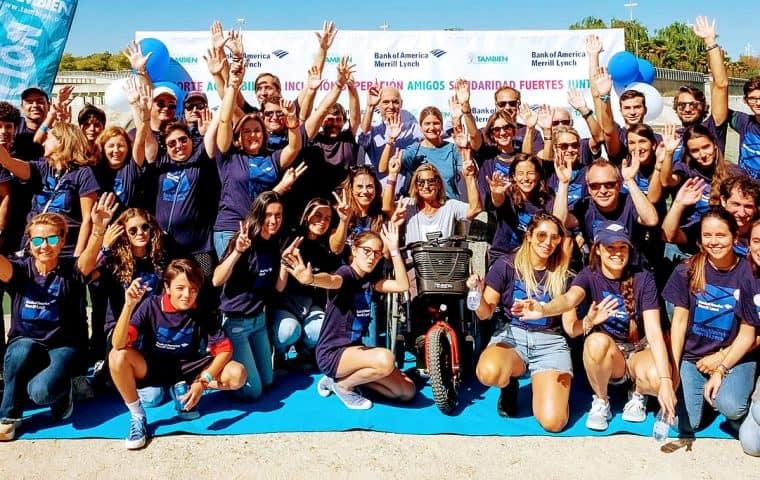 Fiesta de otoño 2019 del deporte adaptado con la Fundación También