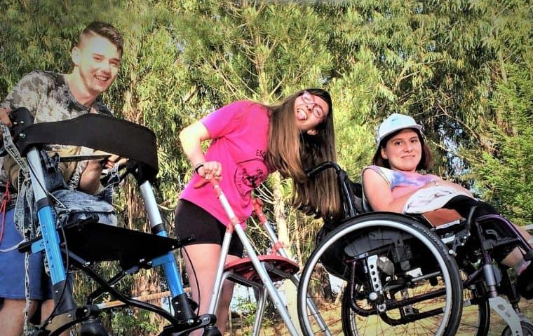 Campamentos Urbanos Inclusivos de la Fundación También ¡diversión para todos!