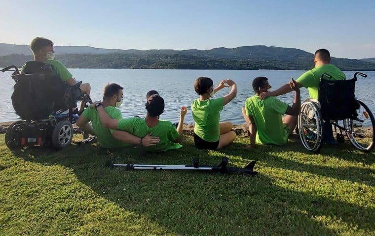 Crónica del 9º Campamento Inclusivo de Vela y Multiactividad de Fundación También del 18 al 25 de julio de 2020 en O'Corgo (Ourense)