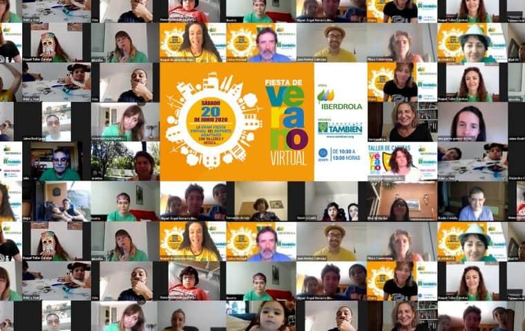 Fiesta de Verano virtual con el apoyo de Iberdrola