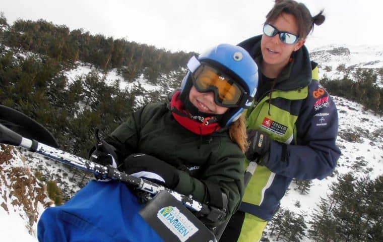 Crowdfunding Esquí para niños y niñas con discapacidad de regalo de Reyes