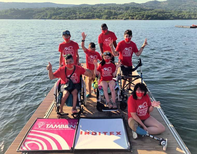 X Campamento Inclusivo de Vela y Multiactividad en O´Corgo (Muiños-Ourense)