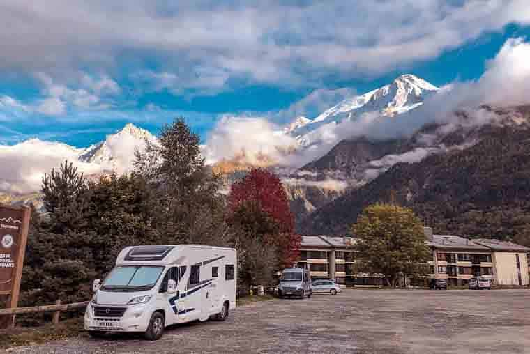 Motorhome Touring in Europe- route itinerary France and Italy to Dolomites