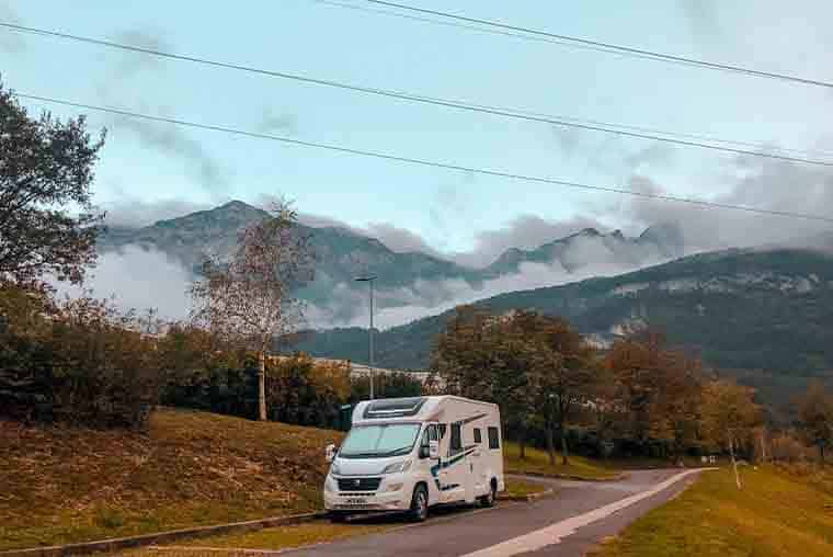 Motorhome Touring in Europe- route itinerary in Italy to Dolomites