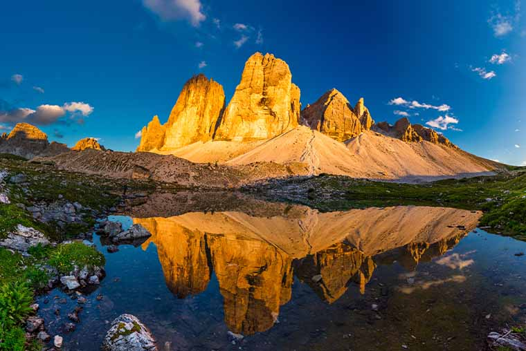 Tre Cime- Dolomites 3 day Itinerary, with map and route planner for Dolomites road trip